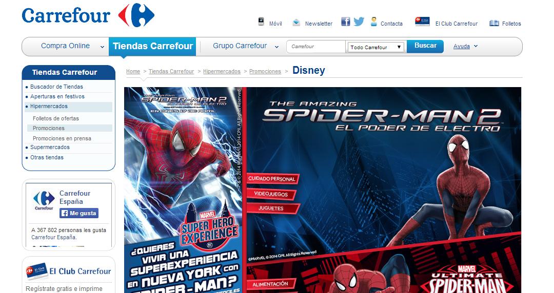 Spider-Man, ArteGB y The Amazing Spider-Man 2: El poder de Electro